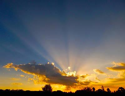 Photograph - Sunburst by Mark Blauhoefer