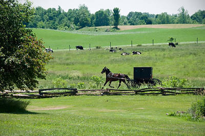 Amish Photograph - Sunday Morning by David Arment