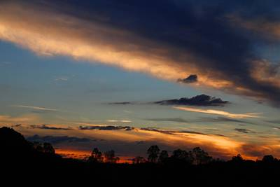 Photograph - Sunday Sunset by Kathryn Meyer