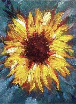 Sunflower Original by Roxy Rich