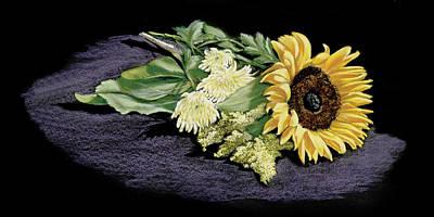 Painting - Sunflower by Vanda Luddy