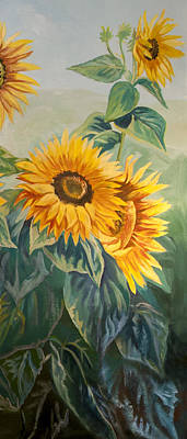 Painting - Sunflowers by Jana Goode