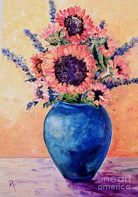 Painting - Sunflowers by Pat Craft