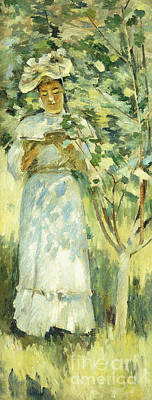 Dappled Sunlight Painting - Sunlight And Shadows by Theodore Robinson
