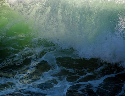 Photograph - Sunlight And Surf by Robert Potts