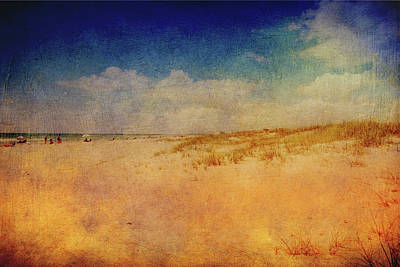 Mixed Media - Sunny Beach  by Lisa Stanley