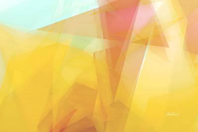 Digital Art - Sunny Side Up - Abstract Art by Ann Powell