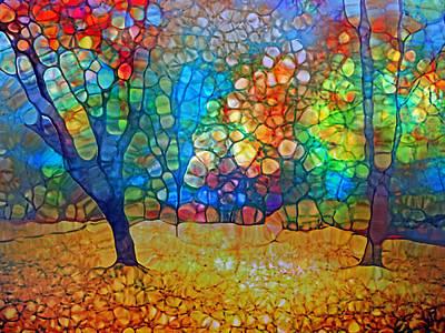 Sunoka Autumn Art Print by Tara Turner