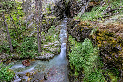 Photograph - Sunrift Gorge by Jack Bell