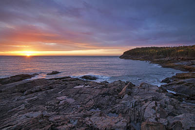 Photograph - Sunrise At Great Head by Darylann Leonard Photography