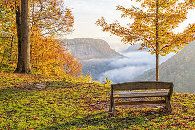 Sunrise At Humphrey's Overlook Art Print