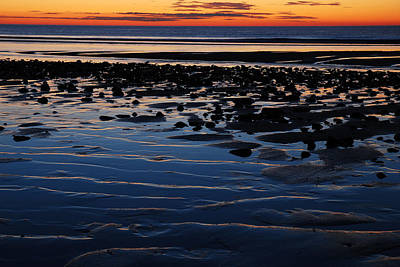 Sunrise At The Shore Art Print by James Kirkikis