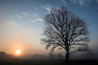 Photograph - Sunrise Fog In Limerick Ireland by Pierre Leclerc Photography