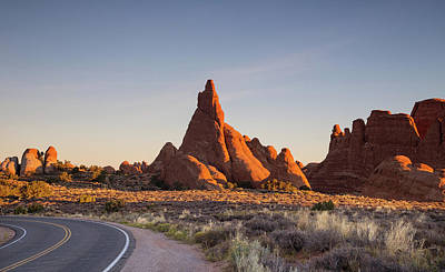 Photograph - Sunrise In Arches National Park by Kunal Mehra