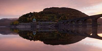 Photograph - Sunrise In The Elan Valley by Stephen Taylor