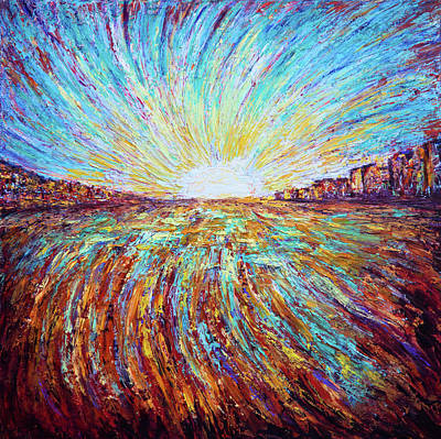 Painting - Sunrise by Lilia D