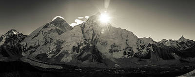 Photograph - Sunrise On Everest by Owen Weber