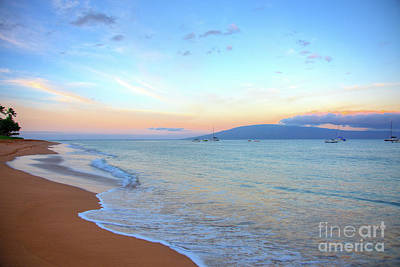 Photograph - Sunrise On Kaanapali by Kelly Wade