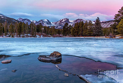 Photograph - Sunrise On Sprague Lake In Rocky Mountain National Park by Ronda Kimbrow