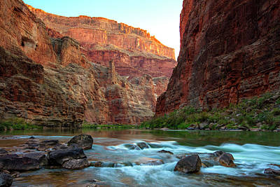 Photograph - Daybreak On The Colorado  by Mike Buchheit
