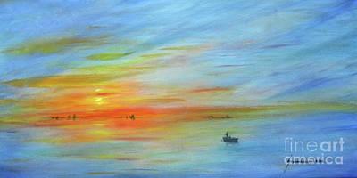 Sunrise On The River Original