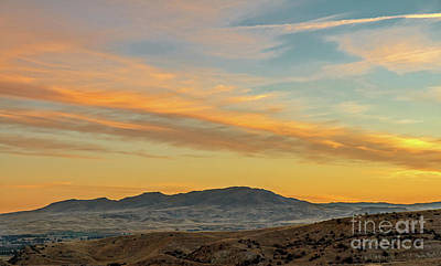 Photograph - Sunrise Over Squaw Butte by Robert Bales