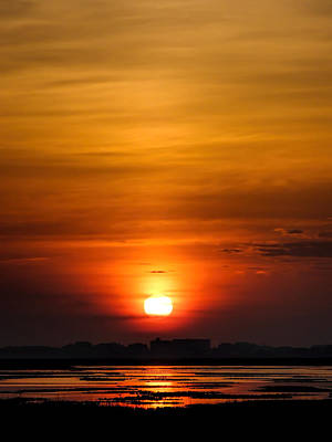 Photograph - Sunrise Over The Marsh by Terry Shoemaker