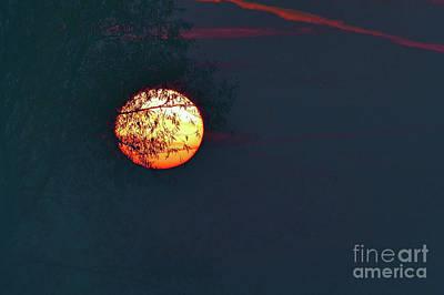 Odon Photograph - Sunrise Paint by Odon Czintos