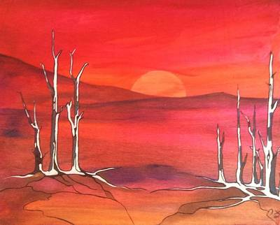 Painting - Sunrise by Pat Purdy