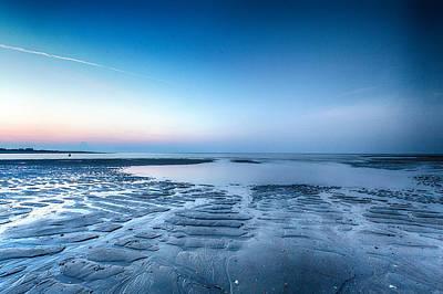 Photograph - Blue Sunrise by Alan Raasch