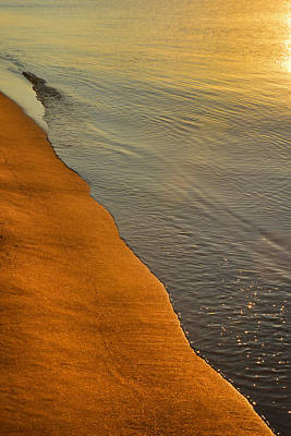 Photograph - Sunrise - Sandy Point State Park by Dana Sohr