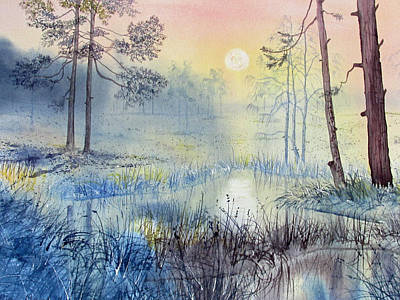 Painting - Sunrise To Serenity by Glenn Marshall