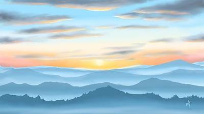Painting - Sunrise by Veronica Minozzi
