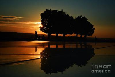Photograph - Sunset And Silhouettes by Lisa Plymell
