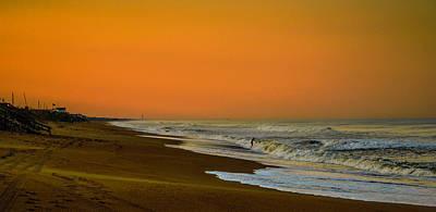 Photograph - Sunset At Duck by John Harding