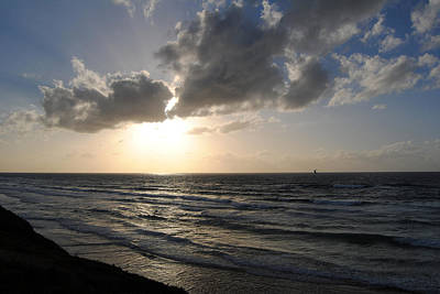 Photograph - Sunset At Jaffa Beach 15 by Isam Awad