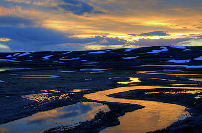 Photograph - Sunset At Trout Creek by Steve Stuller
