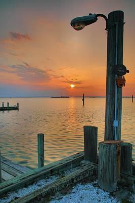 Sunset Bay IIi Art Print by Steven Ainsworth