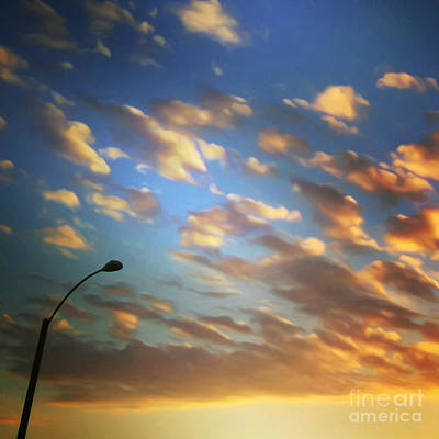 Photograph - Sunset Clouds by Gregory Dyer