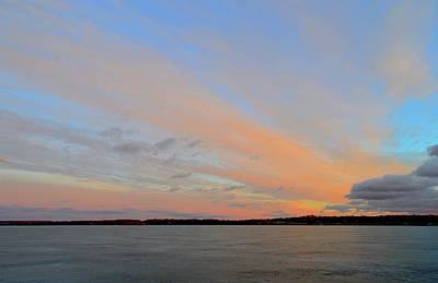 Photograph - Sunset Color  by Lyle Crump