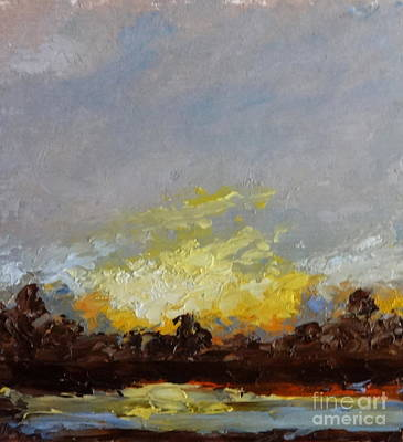 Painting - Sunset by Fred Wilson