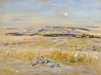 William Mctaggart Painting - Sunset Glamour by William McTaggart