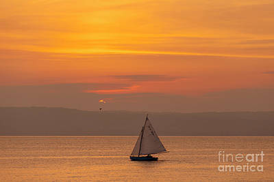 Photograph - Sunset In Bangor, Northern Ireland by Jim Orr
