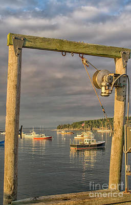 Photograph - Sunset In Harbor by Patricia Hofmeester