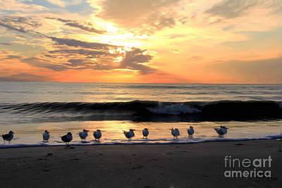 Sanibel Island Painting - Sunset In Sanibel by Brenda Deem