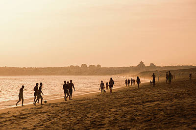 Photograph - Sunset In The Beach by Carlos Caetano