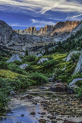 Sunset In The Upper Matterhorn Art Print