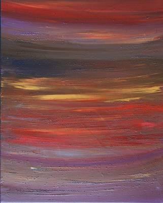Painting - Sunset by Kruti Shah