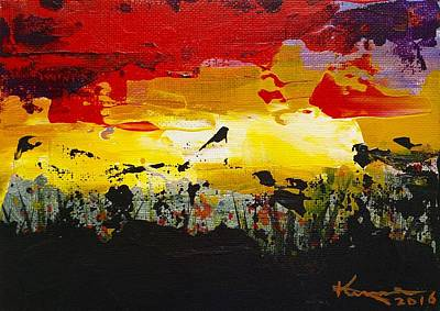 Painting - Sunset by Kume Bryant