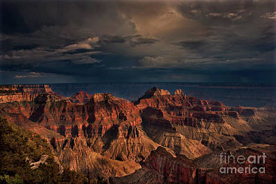 Photograph - Sunset North Rim Grand Canyon National Park Arizona by Dave Welling